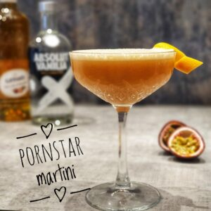 pornstar martini cocktail