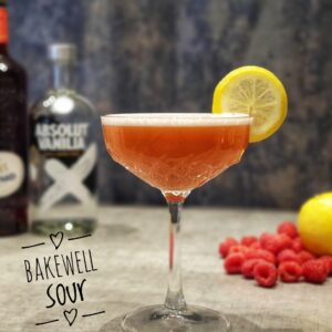 bakewell sour cocktail