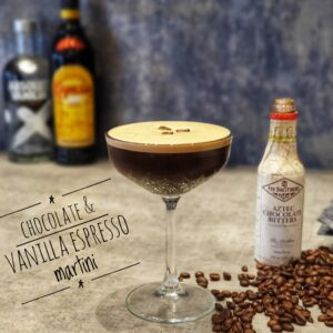 Chocolate & Vanilla Espresso Martini